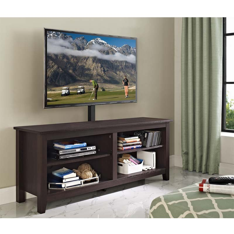 Walker Edison Essential 60 inch TV Stand with Mount