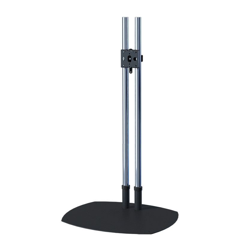 Premier Mounts 72 inch Chrome Low Profile Floor Stand PSDTS72