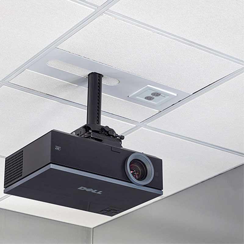 chief suspended ceiling projector system filter surge blk sysaubp2