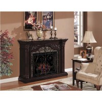 Classic Flame Astoria Wall Mantel Electric Fireplace with