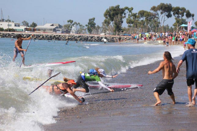Sup Race Crash Oh the carnage