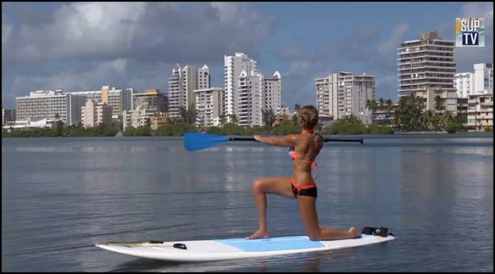 stand up paddle your way to fat loss