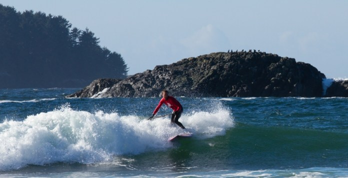 Canada's original stand up paddle surf contest 1