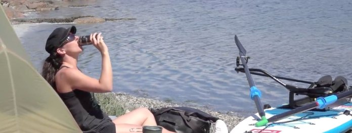 Vancouver Island Stand Up Paddle Camping Trip With The Oar Board