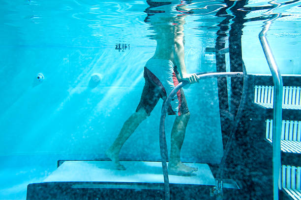 Water therapy treadmill