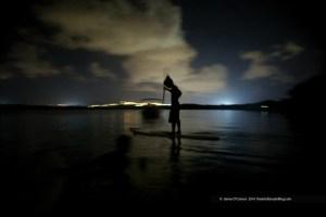 Paddling at Night