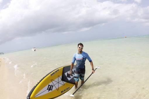 Naish 1 Tobago Stand Up Paddle Race Champion 2014