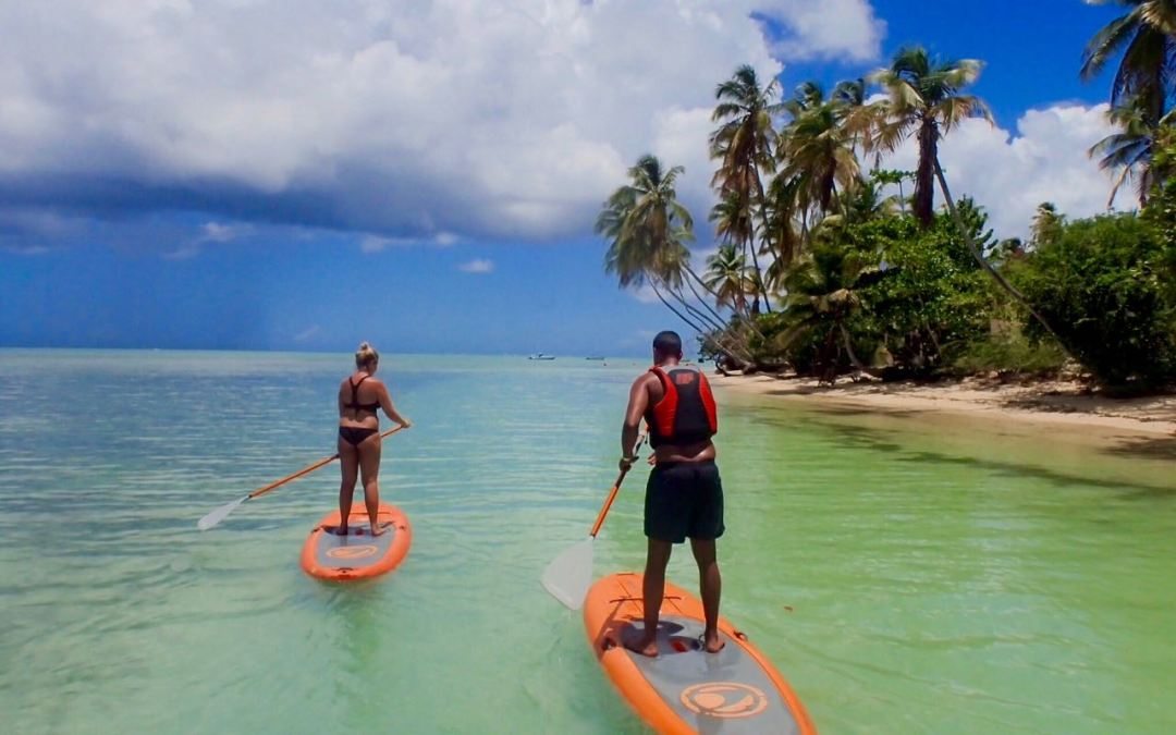 The Beauty of Stand Up Paddle in Tobago