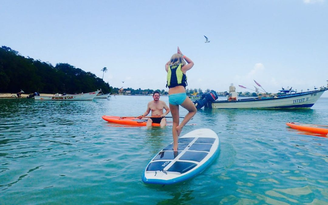 Yoga Stand Up Paddle Tobago