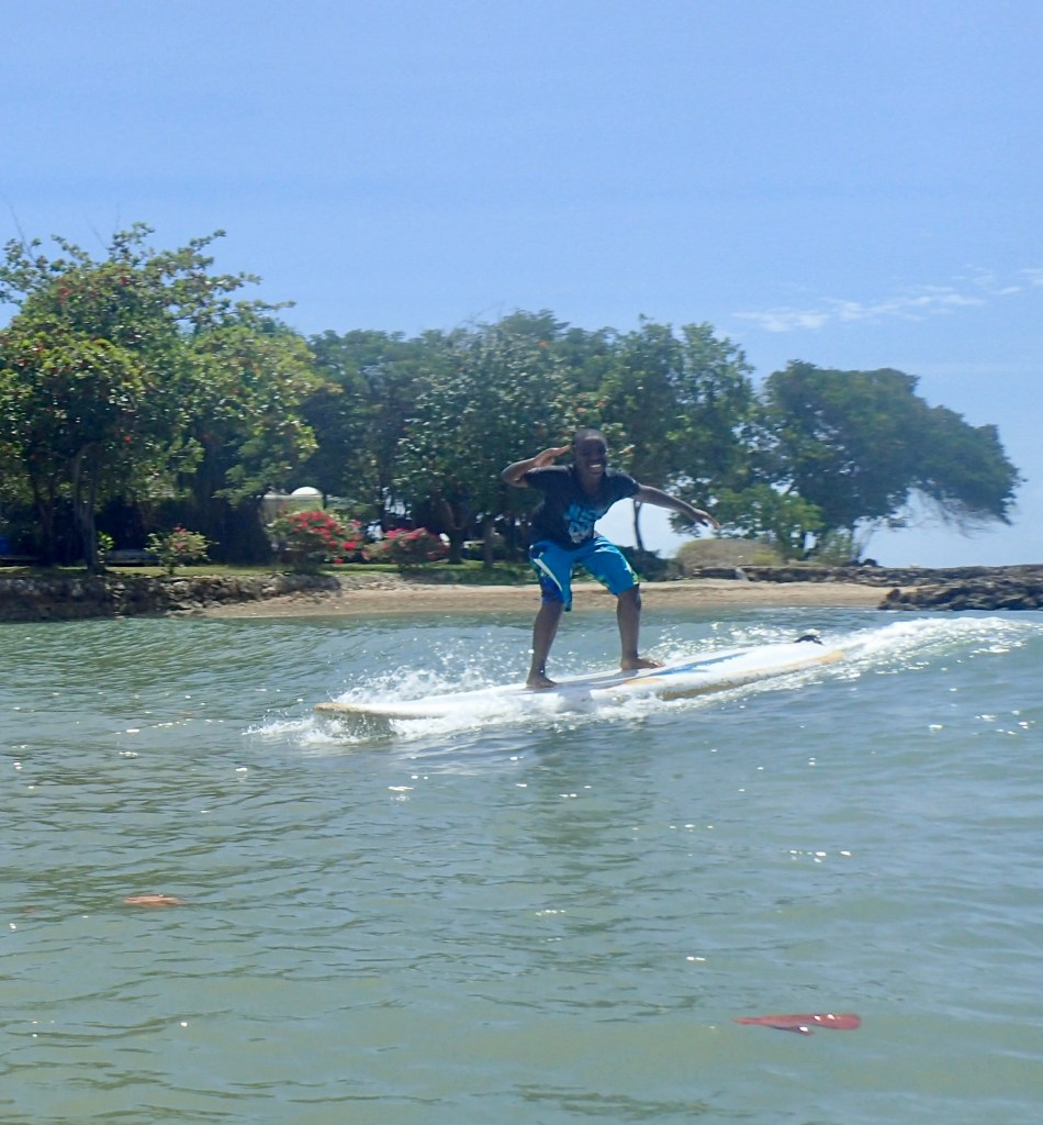 SUP Surfing Tobago