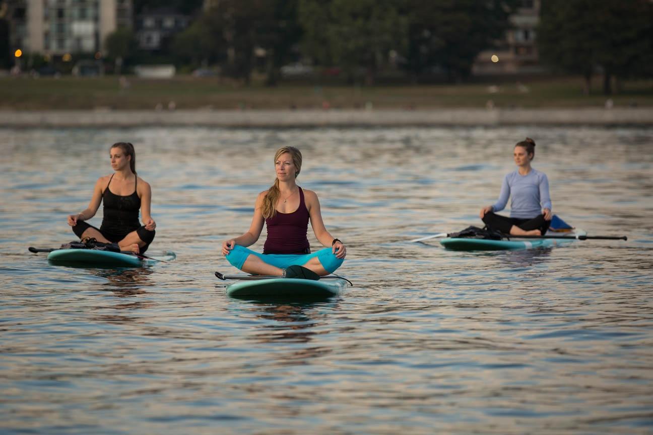 SUP Yoga Amp Liquid Yoga Stand Up Paddle Vancouver