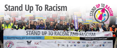 Image result for stand up to racism
