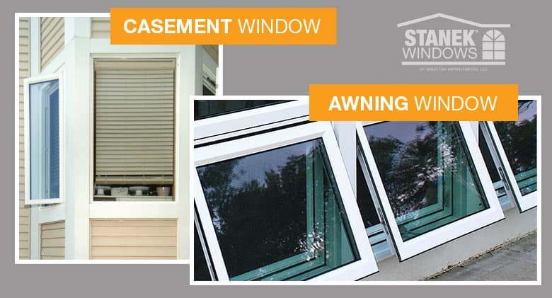 kitchen bay window treatments ninja mega 1500 awning vs. casement windows: what's the difference?