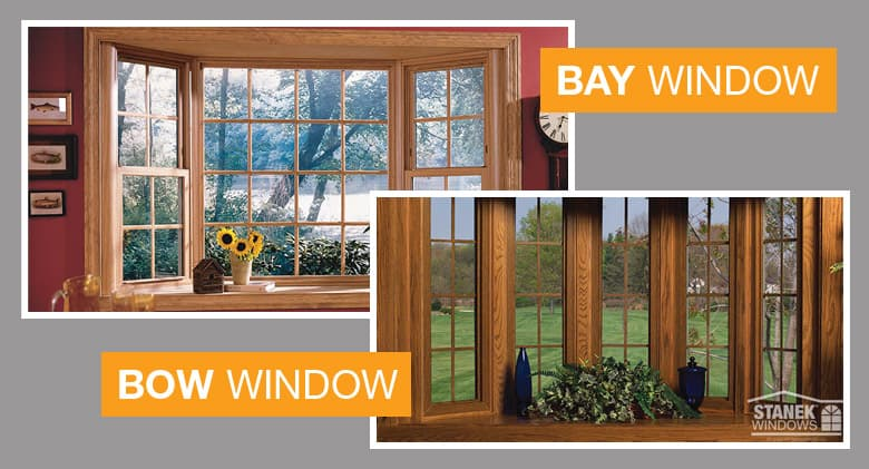 Image Result For What Is The Difference Between A Bay And Bow Window