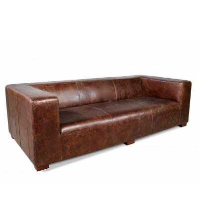 mobilier cuir vintage canapes et
