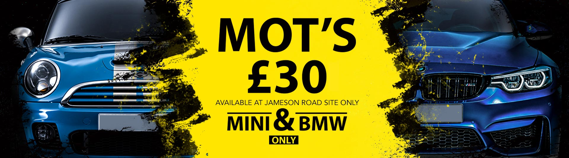 Bournemouth MOT Offer Mini and BMW by Stanfield Garage