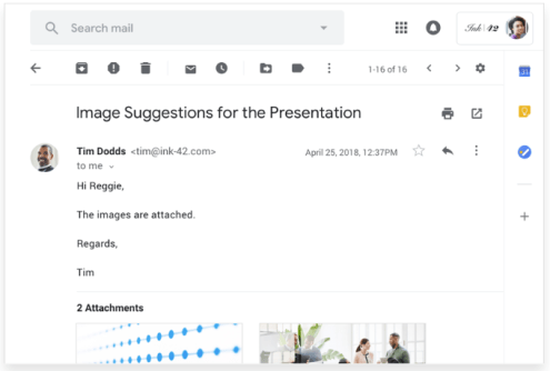 gmail custom email