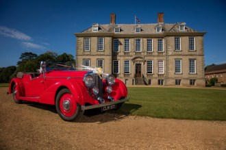 Stanford Hall Wedding Car Country Estate Leicestershire