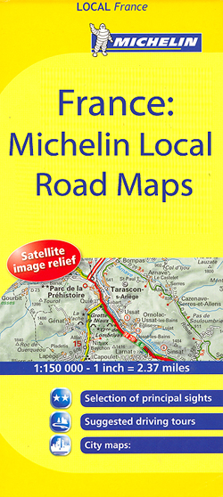 France Michelin 150K Local Road Maps  Stanfords