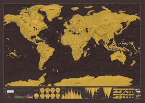 World Scratch Map® - Deluxe Edition