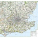 South East England Os Road Map 8 Stanfords