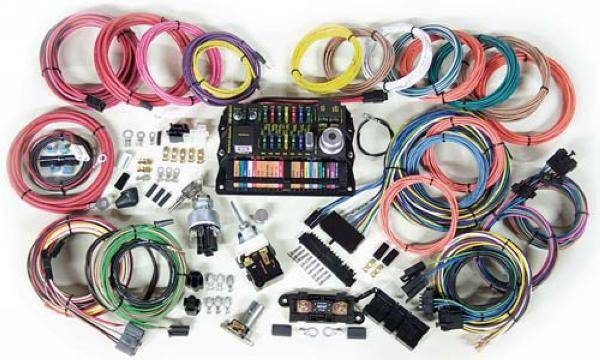 Complete Image Painless Chassis Wiring Harness 65 66 Mustang Painless