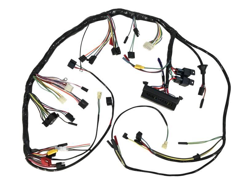1969 Mustang Dash Wiring Harness Diagram
