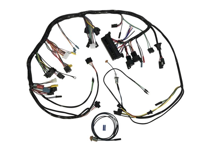 1967 Mustang Under-Dash Wire Harness with Premium Fuse Box