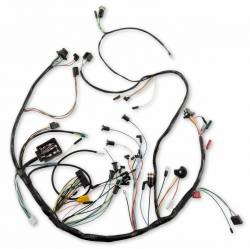 1966 Mustang Under-Dash Wire Harness w/Premium Fuse Box