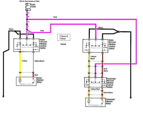small resolution of power window wiring kit wiring diagram value universal power window wiring schematic