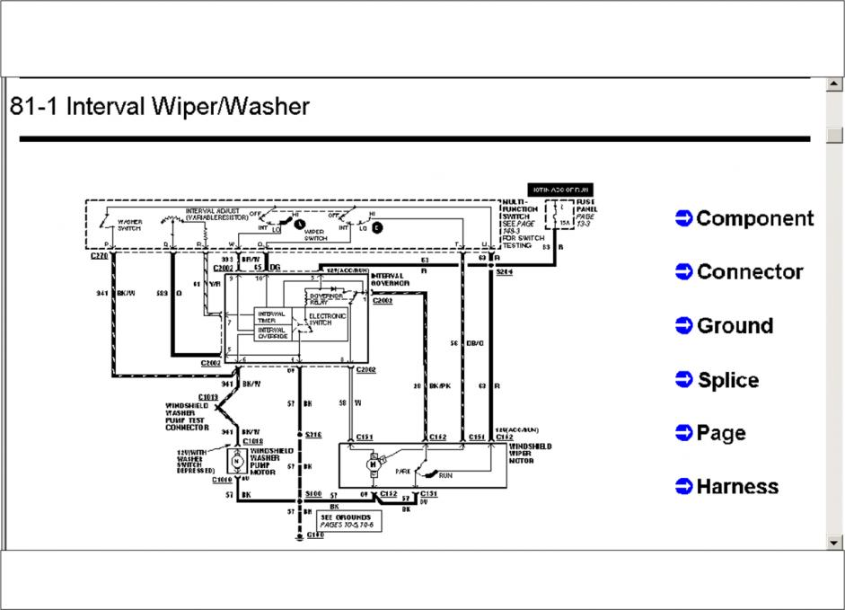 Ford F 350 Windshield Wiper Motor Wiring Diagram. Ford