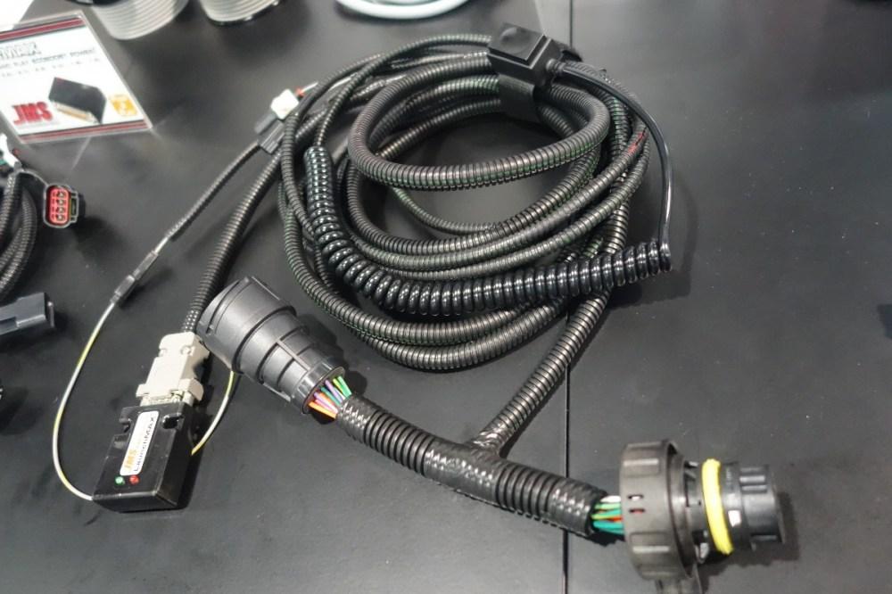 medium resolution of sema 2016 jms plug n play launchmax for 6r80 automatics 1990 ford aod transmission wiring