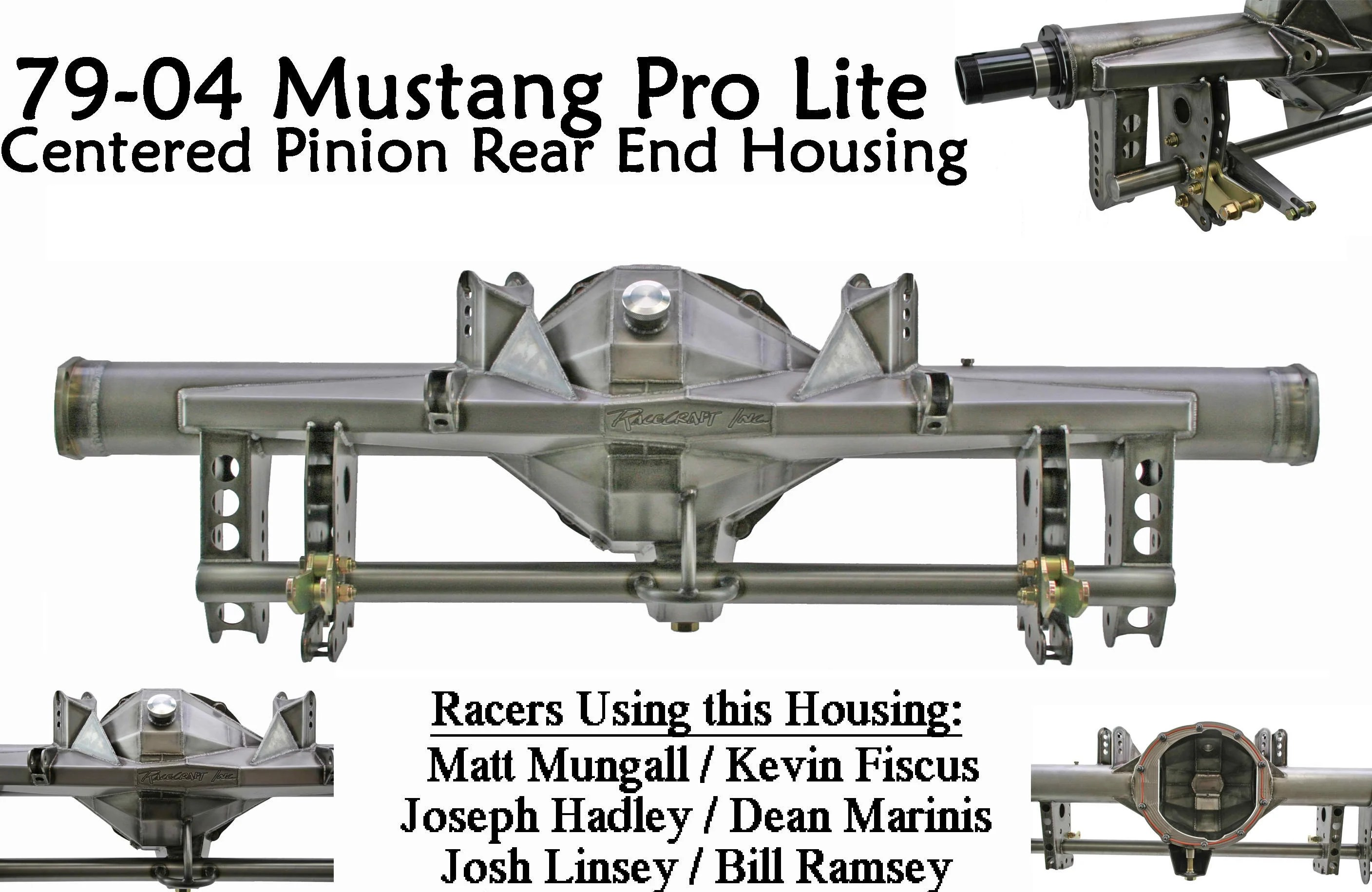 Pro Lite Rear End Housing By Racecraft Inc For 79 04