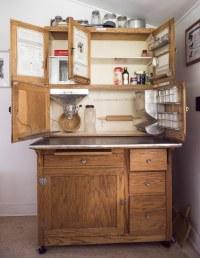 "The Hoosier Kitchen Cabinet-""Saves Steps""! | Stan Honda"