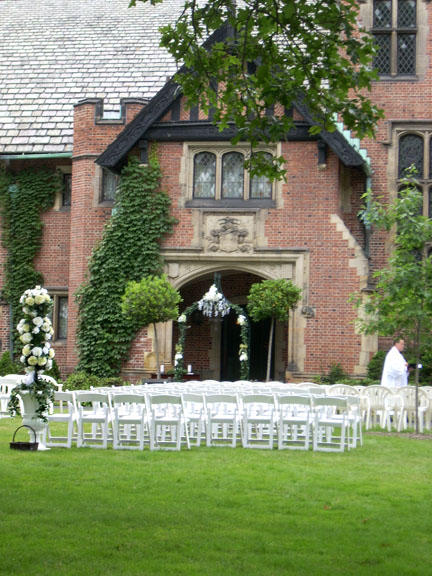 Weddings  Stan Hywet Hall  Gardens