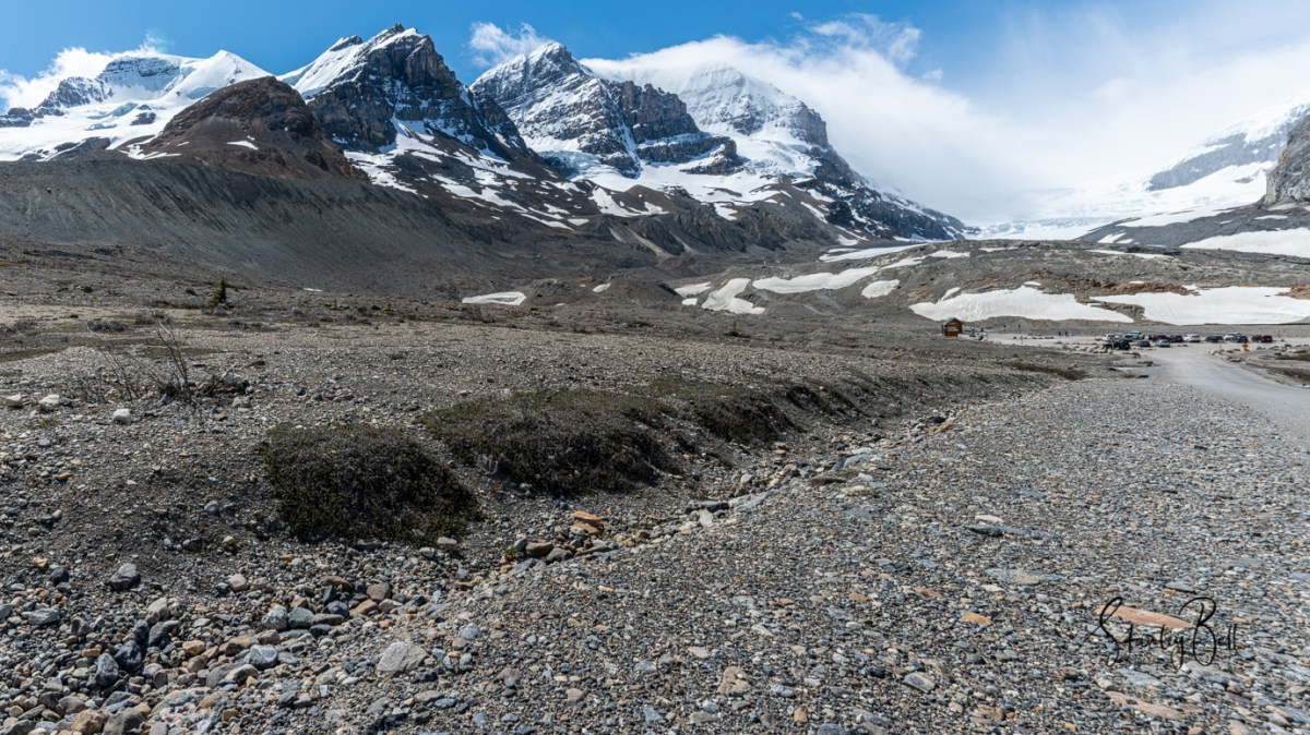 Icefields Parkway in Early June 5