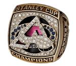Colorado 2001 Stanley Cup ring
