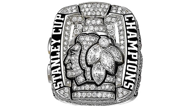 2010 - Chicago Blackhawks Stanley Cup ring - Center