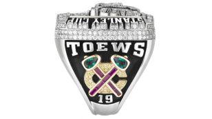 2010 - Chicago Blackhawks Stanley Cup ring - Left