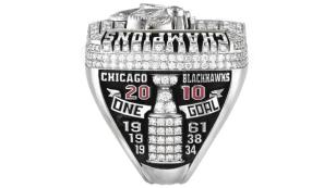2010 - Chicago Blackhawks Stanley Cup ring - Right