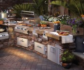 how much is an outdoor kitchen