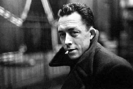 La fameuse pose d'Albert Camus