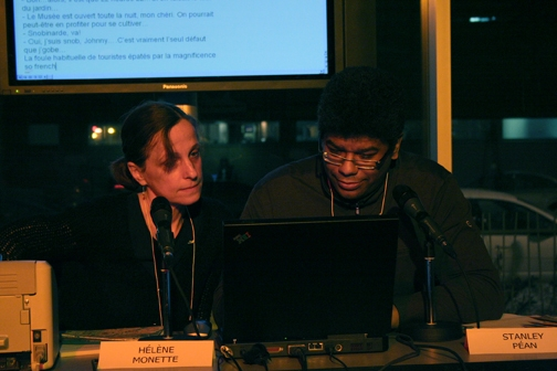 Hélène Monette et Stanley Péan