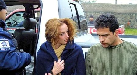 Florence Cassez et Israel Vallarta (Photo SIPA)