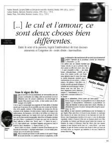 Noirs Désirs in LQ