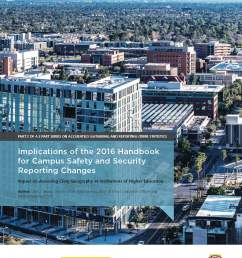 implications of the 2016 handbook for campus safety security reporting changes [ 1275 x 1650 Pixel ]