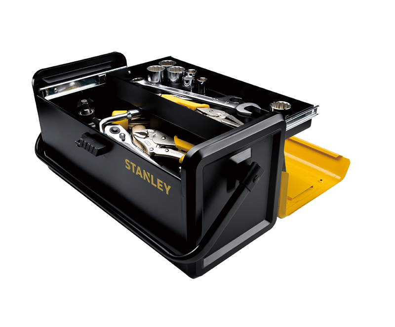 Stanley Storage Tool Boxes 19quot Metal Toolbox