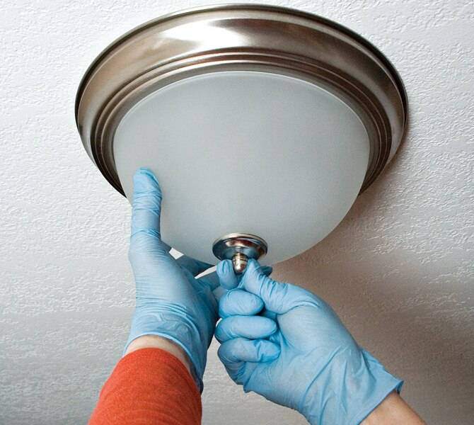 How to Replace a Ceiling Light Fixture in 8 SImple Steps