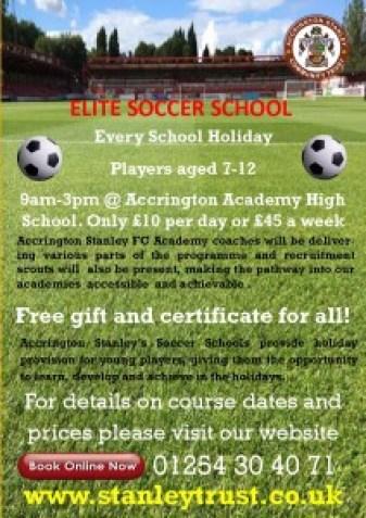 Elite Soccer Schools Leaflet 2015