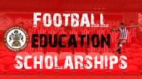 Last few Spaces! Football Education Scholarship 2017/18